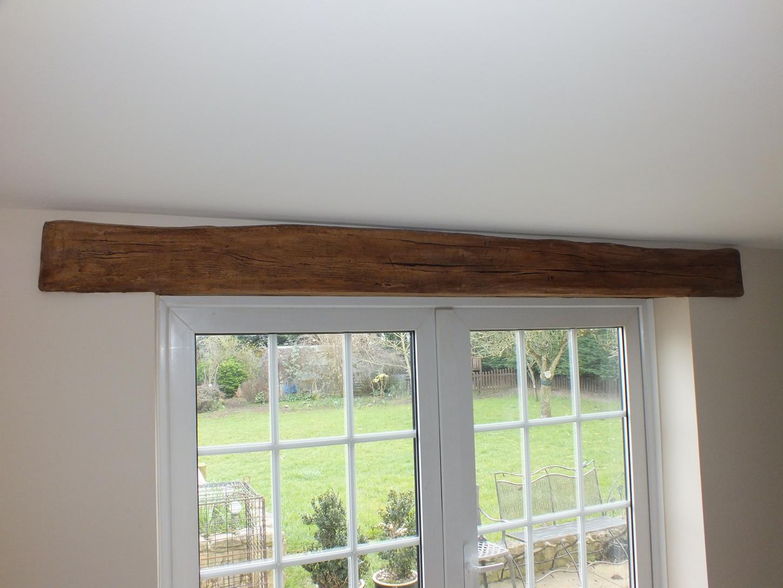 False oak door lintel