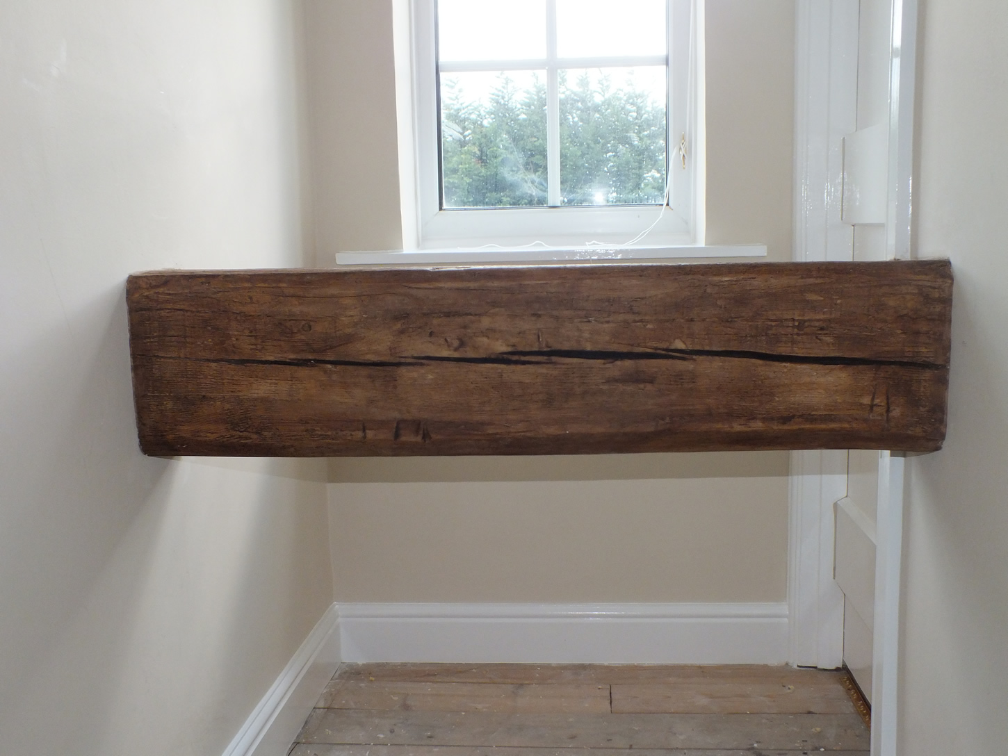 Replica oak beam