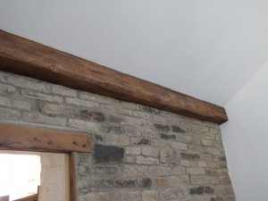 Imitation oak beam