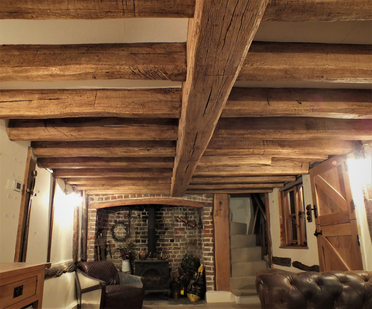 Cottage Beam Layout Period Creations False Oak Beams