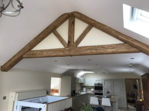 False oak frame